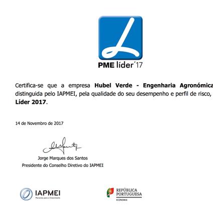 Hubel Verde - PME Líder 2017